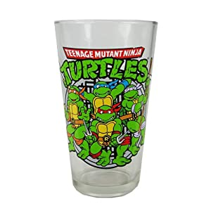 TMNT Sewer Group Shot 16 oz. Pint Glass