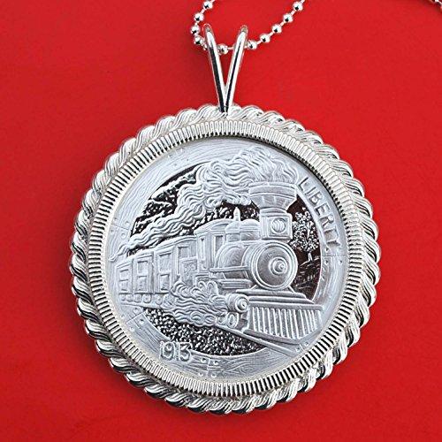 hobo-nickel-replica-the-train-1-oz-999-fine-silver-round-bu-unc-proof-like-coin-925-sterling-silver-