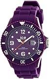 ICE-Watch - Montre Mixte - Quartz Analogique - Ice-Shadow - Imperial purple - Big - Cadran Violet - Bracelet Silicone Violet - SW.IMP.B.S.12