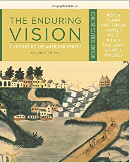 the enduring vision book index Essays - largest database of quality sample essays and research papers on enduring vision chapter 30 notes  the enduring vision: book index.