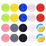 Lovetotoro 20 Pack Thumb Grips Caps for PS2, PS3, PS4, Xbox 360, Xbox One Game Accessories Replacement Parts (10 Colors)