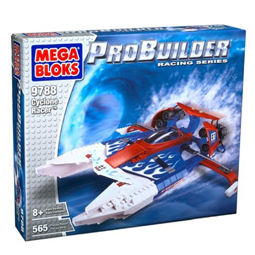 Mega Bloks ProBuilder Cyclone Racer 9788 565 Pieces BlocksB0006DNUNU