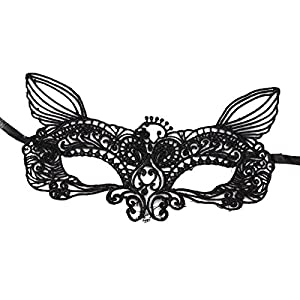 Black Sexy Lace Eye Face Mask Masquerade Ball Prom Halloween Costume Party by GoodsGood Co., LTD