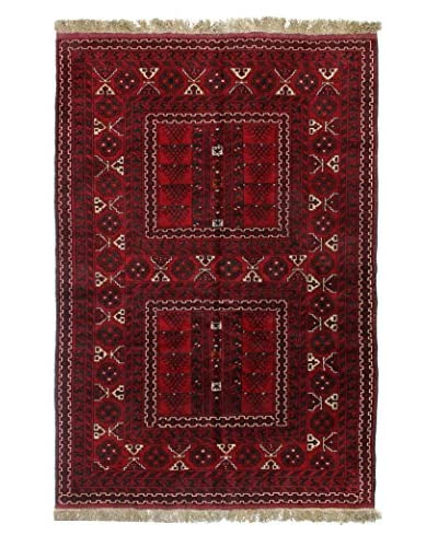 Bashian Rugs Hand Knotted Beshir, Red, 5' 1 x 7' 9