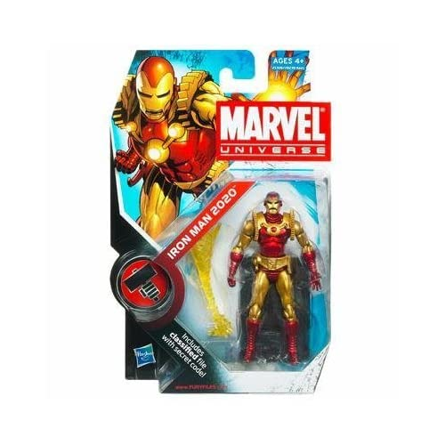 Marvel Universe Iron Man 2020 3-3/4 Inch Scale Action Figure Series 2 Figure 033 by Hasbro