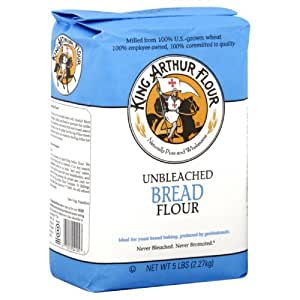 Amazon.com : King Arthur, Unbleached Bread Flour, 80oz Bag