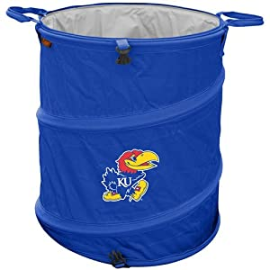 Kansas Jayhawks NCAA Collapsible Trash Can