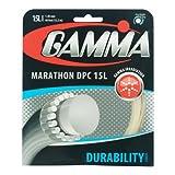 Gamma Marathon DPC 15L Tennis String, Natural