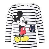 DISNEY Ni�os Mickey Mouse Camisa, blanco, talla 80, 12 meses
