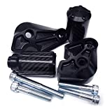 Shogun Motorsports 750-6739 No Cut Black Frame Sliders Yamaha YZFR1