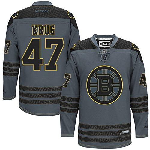 nhl-boston-bruins-47-torey-krug-mens-premier-jersey-charcoal-color-size-l