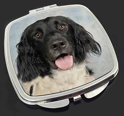 m nsterl nder hund make up taschenspiegel weihnachtsgeschenk. Black Bedroom Furniture Sets. Home Design Ideas