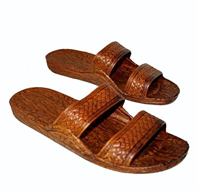 6fac17001 Brown Rubber Slide Sandal Slipper