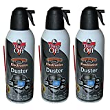 Dust-Off Falcon Professional Electronics Compressed Air Duster, 12 oz, 3 Pack