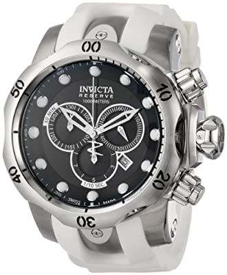 Invicta Men's 14006 Venom Analog Display Swiss Quartz White Watch
