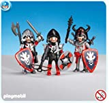 PLAYMOBIL 7975 - 3 Red Dragon Knights