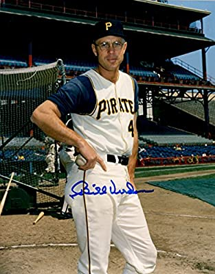 Autographed Bill Virdon 8x10 Pittsburgh Pirates Photo