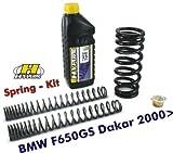 Hyperproスプリング フォーク&ショックアブソーバー用 BMW F650GSダカール専用(2000-)