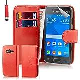 32nd® PU-Leder Schutzhülle für Samsung Galaxy Ace 4