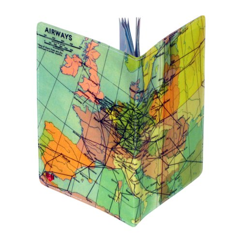 Airways Map Small Notebook