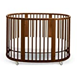 Stokke Sleepi Crib, Walnut Brown