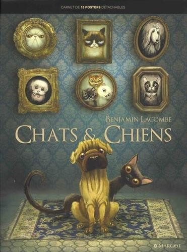 chats-et-chiens-carnet-de-15-posters-detachables