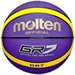 Molten BGR-VY Rubber Basketball - Pur...