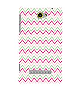 printtech Abstract Lines Design Back Case Cover for HTC Windows Phone 8S