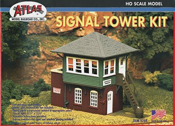 ATLAS MODEL 704 Signal Tower Kit HO (Ho Model Train Building Kits compare prices)