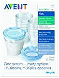 Philips Avent 10 Pack BPA Free Breast Milk Storage Starter Set, Clear, 6 Ounce Infant, Baby, Child