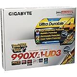 Gigabyte Mod SoAM3+ GBT GA-990XA-UD3 (990X/ATX) Scheda Madre, Nero