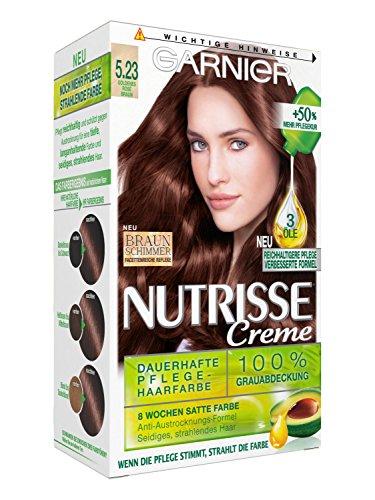 garnier-nutrisse-creme-coloration-goldenes-rose-braun-523-farbung-fur-haare-fur-permanente-haarfarbe
