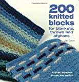 200 Knitted Blocks: For Afghans, Blankets and Throws (0715322354) by Eaton, Jan