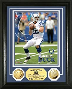 NFL Indianapolis Colts Andrew Luck Photo Mint Gold Coin by Highland Mint