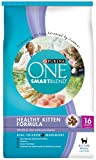 Purina One Cat Healthy Kitten Formula Cat Food, 16-Pound