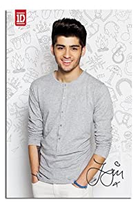 One Direction 2013 Zain Poster - 91.5 x 61cms (36 x 24 Inches) from iPosters