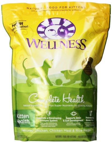 Wellness Kitten Health Cat Food, 5 Lb-14 Oz Bag