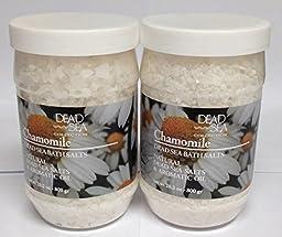 Dead Sea Natural Scented Bath Salts (2 Pack) (Chamomile)