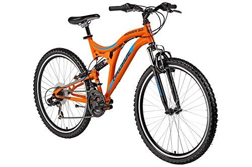 26-Hillside-Mountainbike-Power-30-Fahrrad-MTB-21-Gang-Shimano-Tourney-Schaltung-Fully-Federung-vorn-und-hinten