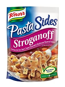 Knorr/Lipton Noodles & Sauce, Stroganoff, 4-Ounce Packages (Pack of 12)