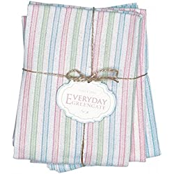 GreenGate Geschirrtuch - Tea Towel - Alice Pastel Mix - 3er Set