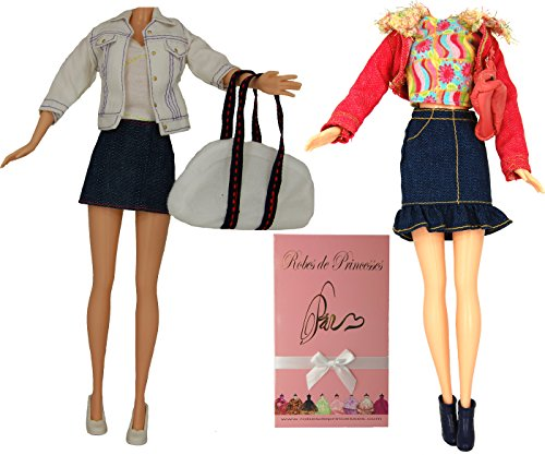 Lote-de-ropa-LIFE-para-la-mueca-Barbie-Disney-y-otras-muecas