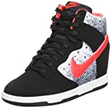[ナイキ] NIKE WMNS DUNK SKY QOH 631364-006 BLACK/LASER CRIMSON-WHITE (BLACK/LASER CRIMSON-WHITE/US7.5)