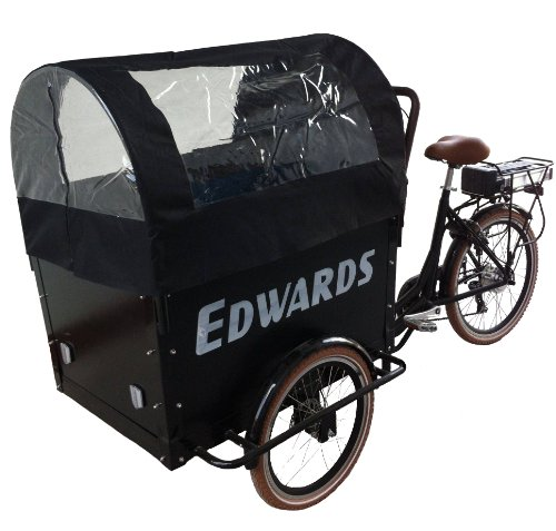 Edwards Elektro Transport Dreirad 6-gang