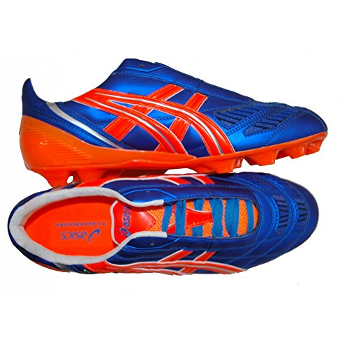 ASICS - ASICS TIGREOR IT BRILLIANT BLUE ORANGE BIANCO - BLU-ARANCIO, 9.5
