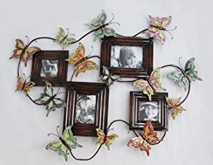 Butterfly Picture Frame Collage - For Home Wall Decoration