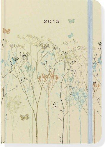 2015 Butterflies Weekly Planner (16-Month Engagement Calendar, Diary)