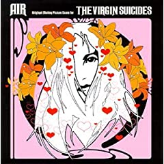 Pochette de l'album 'Virgin Suicides'