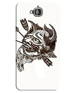 FurnishFantasy 3D Printed Designer Back Case Cover for Huawei Honor Holly 2 Plus