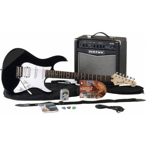 Yamaha Gigmaker Electric Guitar Package - Black